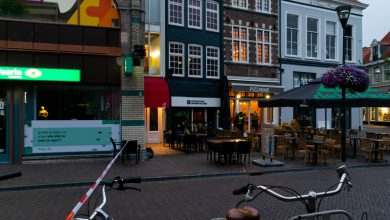 Photo of Schoten bij horecagelegenheid aan Oude Vismarkt