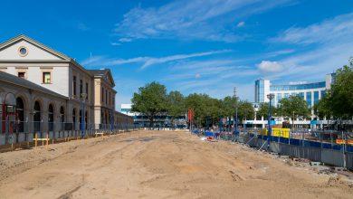 Photo of Aannemer start met aanleg bouwkuip Stationsplein