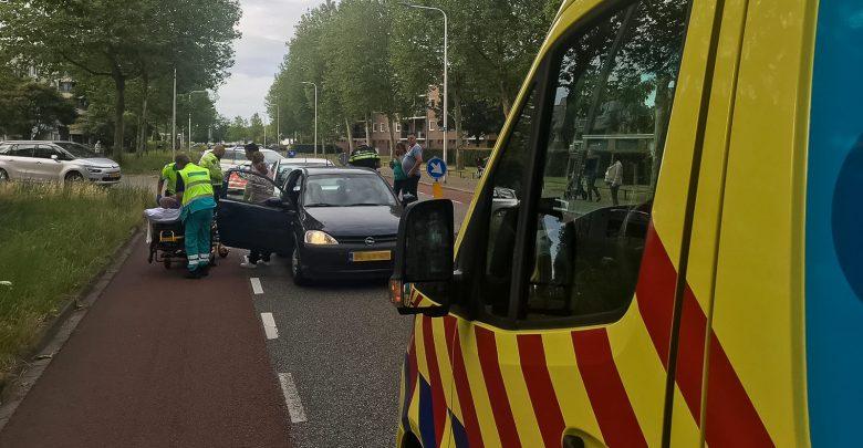 Photo of Twee gewonden bij kop-staartbotsing Aa-landen