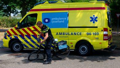 Photo of Fietser gewond na aanrijding in Hanzeland