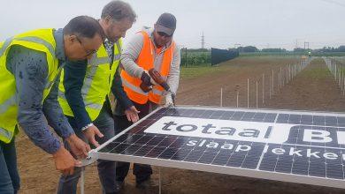 Photo of Bouw zonneweide Hessenpoort met 19.000 panelen gestart