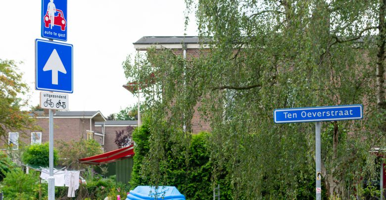 Photo of Zwolle test bamboe verkeersborden in Assendorp