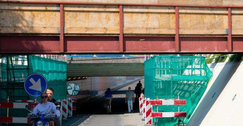 Photo of Werkzaamheden extra spoorviaduct Koggepad van start