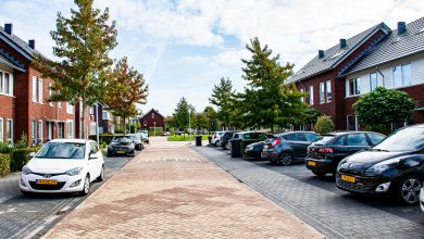 Photo of Cheque voor betegelde voortuin Plattenborgstraat Stadshagen