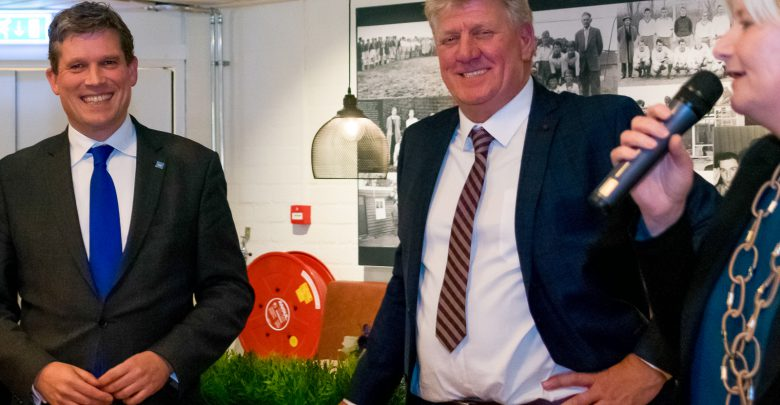 Photo of SVI voorzitter Harro Velthuis overleden