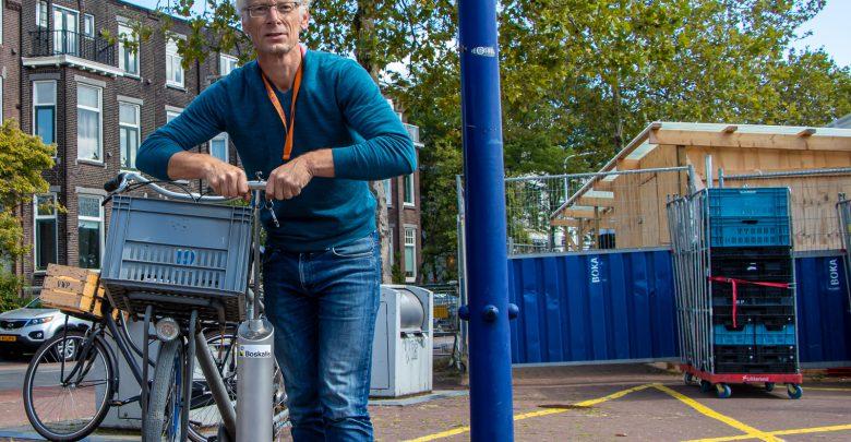 Photo of Aannemer schenkt openbare fietspomp aan Zwolle