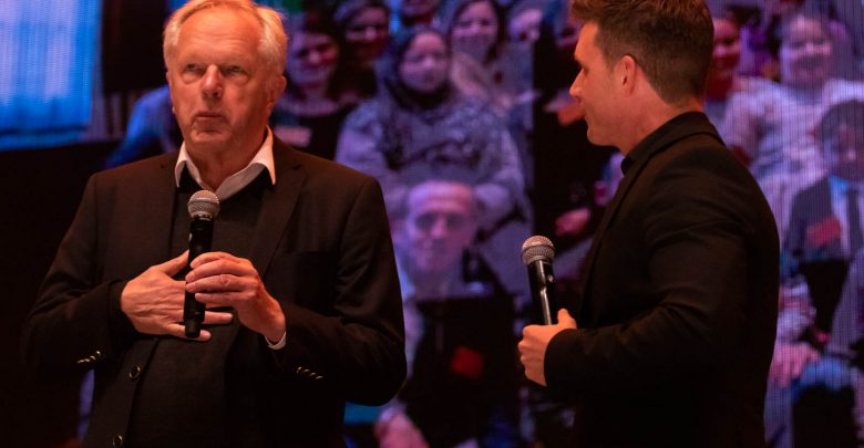 Photo of Henk Jan Meijer nam afcheid van de stad op hoofdpodium Stadsfestival
