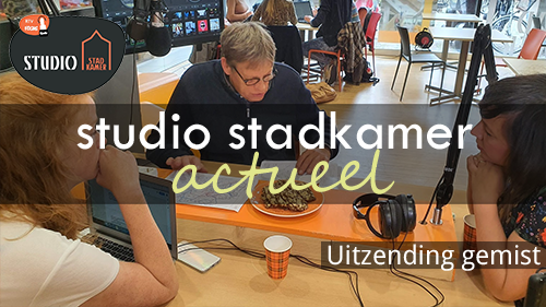 Photo of Studio Stadkamer Actueel gemist, 2019-10-29