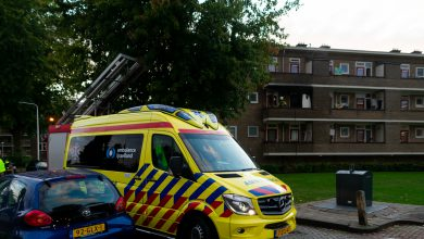 Photo of Flatwoning onbewoonbaar na brand in Diezerpoort