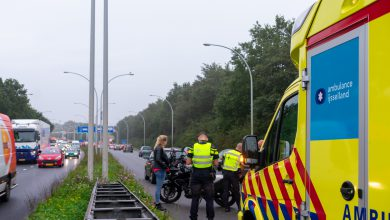 Photo of Motorrijder gewond op IJsselallee