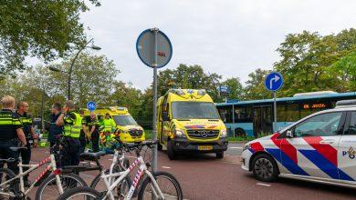Photo of Vrouw gewond na aanrijding Willemskade