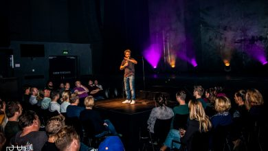 Photo of Nederlandse top comedians naar Hedon tijdens Comedy Night