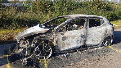 Photo of Uitgebrande Renault Clio aan Harculoseweg gestolen in Den Haag