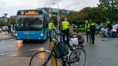 Photo of Fietsster gewond op Luttenbergstraat