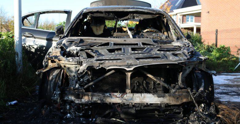 Photo of Tweede autobrand in Stadshagen in drie dagen tijd