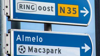 Photo of Meerdere afsluitingen N35 tussen Nijverdal en Wierden; 14-17 december 2020