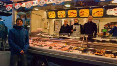 Photo of Henk Visscher vertelt over zijn ervaring als marktkoopman in de zeevishandel