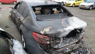 Photo of BMW uitgebrand bij autobergingsbedrijf op de Marslanden