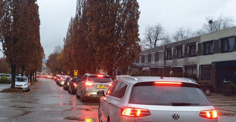 Photo of Verkeersinfarct Zwolle Zuid door regen en wegwerk