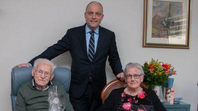 Photo of Echtpaar Wink – Hulzentop 70 jaar getrouwd