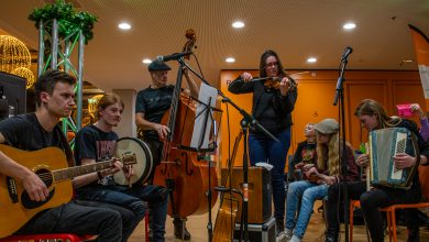Photo of The Craic: Jeugdige muzikanten spelen Ierse Folk in Top 380