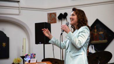 Photo of In beeld: Jazz-zangeres Fay Claassen in Waalse Kerk
