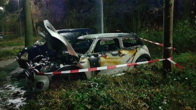 Photo of Vijfde autobrand in Zwolle, ditmaal in de Aa-Landen