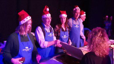 Photo of Jaarlijks WRZV kerstdiner voor minema en daklozen druk bezocht