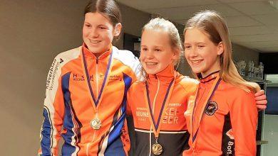 Photo of Brons voor Britt van der Linden bij Gewestelijk Kampioenschap