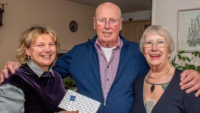 Photo of Oud schippersechtpaar Frantzen 60 jaar getrouwd