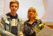 Photo of Daan Boven van het Carolus Clusius College in Zwolle gekozen tot beste jonge debater van Overijssel
