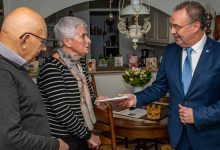 Photo of Anneke en Wim Haverkamp 60 jaar getrouwd