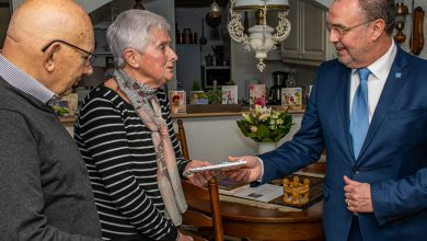 Photo of Anneke en Wim Haverkamp 60 jaar getrouwd