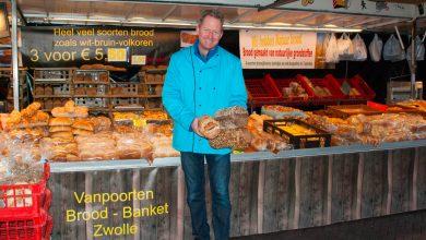 Photo of Echte Zwollenaar Marcel van Poorten staat al sinds 1990 op de Zwolse markt