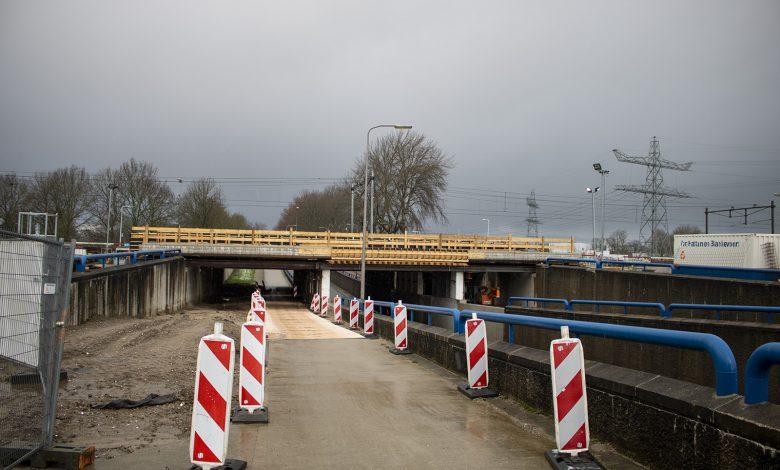 Photo of Verkeersoverlast op Marsweg en Ceintuurbaan door aanleg spoorviaduct