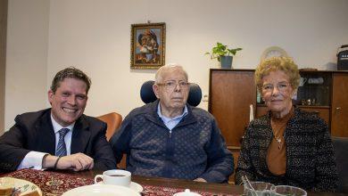 Photo of Echtpaar Steenbergen – Pannekoek 60 jaar getrouwd