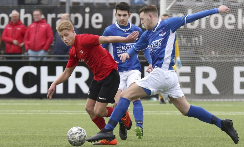 Photo of WVF wint met 1-2 van Be Quick '28