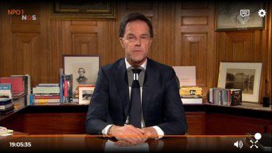 Photo of Mark Rutte: 'een groot deel van de Nederlandse bevolking zal met het virus besmet raken'