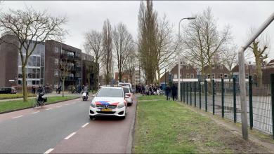 Photo of Oproer in de Indische buurt Zwolle in verband met vermeende pedofiel
