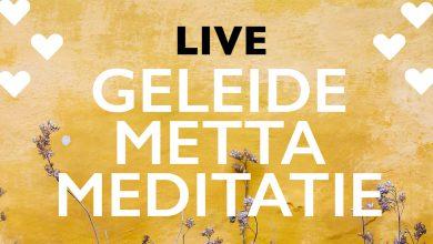 Photo of Livestream met geleide meditatie