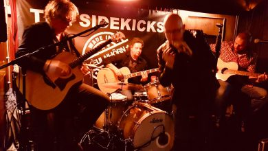 Photo of The Sidekicks in Bluesworld Café