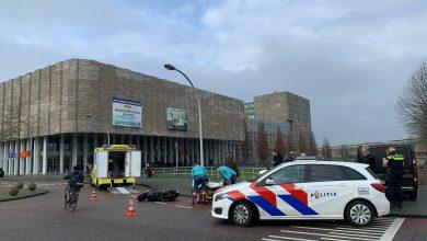 Photo of Ongeval tussen scooter en bus bij winkelcentrum Stadshagen