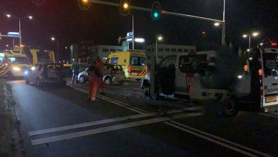 Photo of Dronken bestuurder ramt na dollemansrit personenauto op Ceintuurbaan