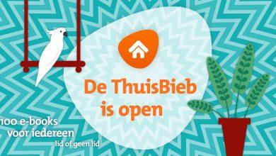 Photo of De ThuisBieb is open!