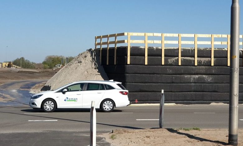 Photo of Viaduct Nieuwleusenerdijk voor snelle doorgang naar A28 krijgt vorm