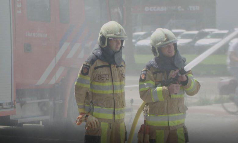 Photo of Brandweerherdenking bij kazerne Marslanden in Zwolle