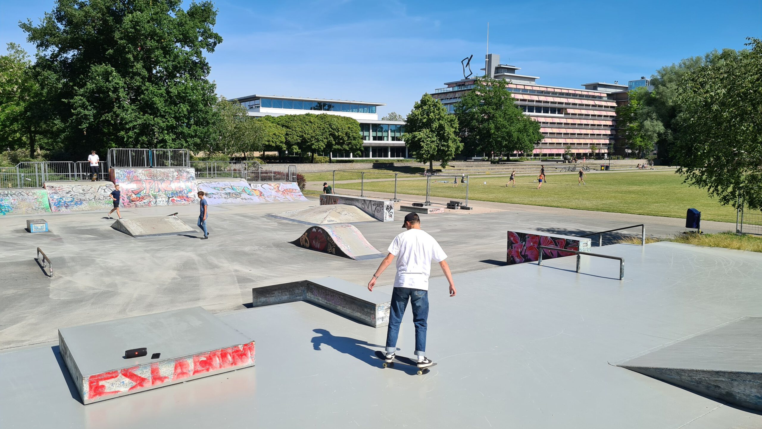 Photo of Video – Skatepark Wezenlandenpark weer open