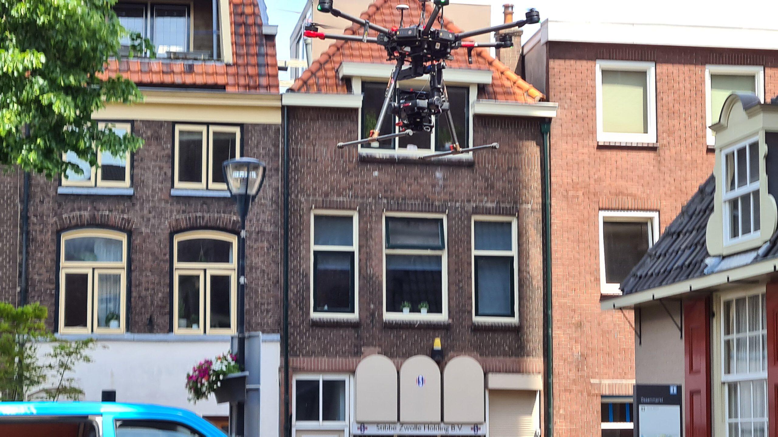 Photo of Inspectie aan de Peperbus met drone