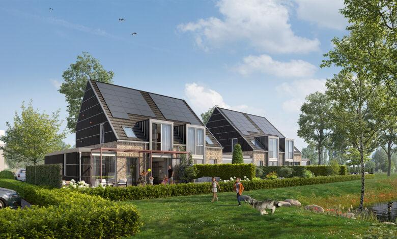 Photo of Bouw energieneutrale woningen Hof van Breezicht Zwolle gestart