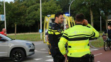 Photo of Fietser gewond bij aanrijding Burg. Roelenweg